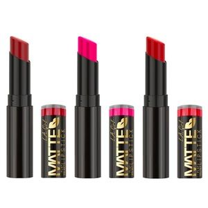 SET OF 3 L.A. Girl Matte Velvet lipsticks